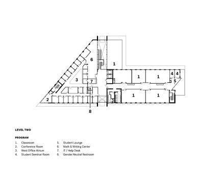 Dossier de presse | 3178-01 - Communiqué de presse | WSU University Center Expands Higher Education in North Puget Sound Region - SRG Partnership, Inc. - Institutional Architecture - Crédit photo : SRG Partnership, Inc.