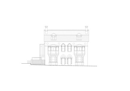 Press kit | 3004-01 - Press release | Maybanke - AJ+C - Residential Architecture - South Elevation<br> - Photo credit: AJ+C