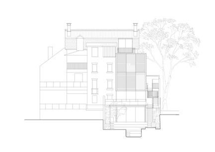 Press kit | 3004-01 - Press release | Maybanke - AJ+C - Residential Architecture - North Elevation<br> - Photo credit: AJ+C