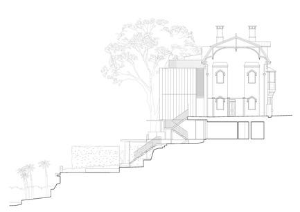 Press kit | 3004-01 - Press release | Maybanke - AJ+C - Residential Architecture - West Elevation<br> - Photo credit: AJ+C