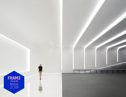 Press kit | 3160-01 - Press release | Announcing the Nominees of the Frame Awards 2018 - Frame - Competition - Nominated for Best Use of Light Hyundai Capital Convention Hall, Seoul by Gensler<br> - Photo credit: Nacasa &amp; Partners