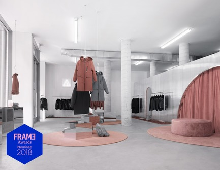 Press kit | 3160-01 - Press release | Announcing the Nominees of the Frame Awards 2018 - Frame - Competition - Nominated for Pop-up Store of the Year The Arrivals Concept Pop-Up Store Series by Bower Studios and Lotte van Velzen<br> - Photo credit: Albert Ryan<br>