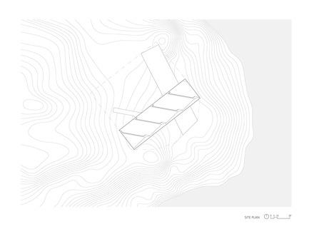 Dossier de presse | 3177-01 - Communiqué de presse | La résidence « Sky House » - Julia Jamrozik and Coryn Kempster - Architecture résidentielle -         Site Plan - Crédit photo : Coryn Kempster
