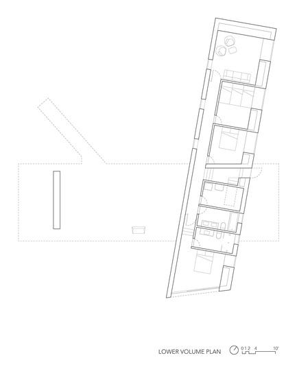 Dossier de presse | 3177-01 - Communiqué de presse | La résidence « Sky House » - Julia Jamrozik and Coryn Kempster - Architecture résidentielle -         Lower Volume Plan - Crédit photo : Coryn Kempster