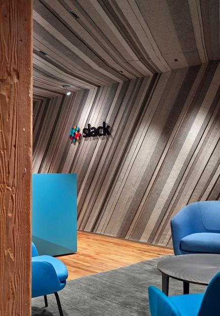 Press kit | 1513-01 - Press release | Slack Toronto Office - Dubbeldam Architecture + Design - Commercial Interior Design - Photo credit: Shai Gil