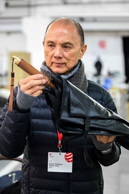 Press kit | 1696-20 - Press release | Red Dot Award: Product Design 2018 – Putting Design to the Test - Red Dot Design Award - Competition - Red Dot juror Jimmy Choo<br> - Photo credit: Red Dot<br>