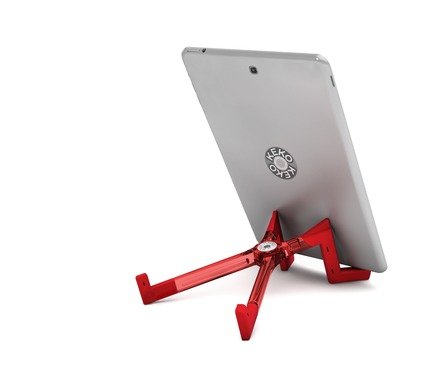 Press kit | 3140-01 - Press release | The Keko Tablet Stand: A New Design with a New Approach to Ergonomics - X2 PRODUCTS EDITION - Product - Reading Mode - Photo credit: Meteore Design