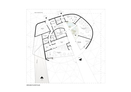 Press kit | 1018-06 - Press release | METAFORM Architects Opens Subsidiary in Dubai - Metaform architects - Event + Exhibition - Luxembourg Pavilion at DUBAI EXPO2020 - Ground floor plan - Photo credit: Metaform
