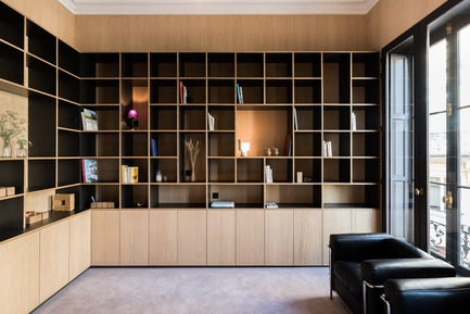 Press kit | 2180-02 - Press release | L'hôtel de Bethmann - Martins | Afonso atelier de design - Residential Interior Design - Bookshelves <br> - Photo credit: Mickaël Martins Afonso