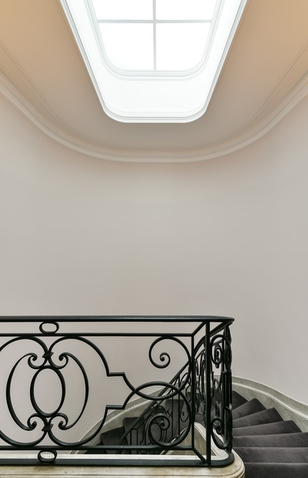 Press kit | 2180-02 - Press release | L'hôtel de Bethmann - Martins | Afonso atelier de design - Residential Interior Design - Staircase - Photo credit: Mickaël Martins Afonso