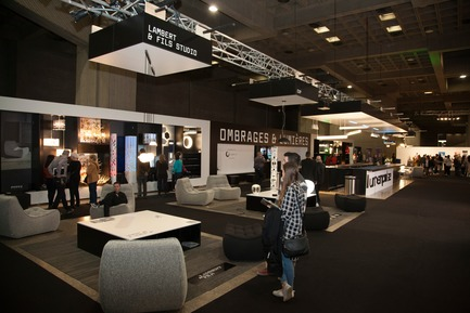 Press kit | 673-19 - Press release | 11th GRANDS PRIX DU DESIGN Awards Winners Announced - Agence PID - Competition - Stands and kiosks for professional salons award<br>Ombrages &amp; Lumières<br>Hatem+D Architecture / Etienne Bernier Architecte - Photo credit: EBA