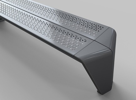 Press kit | 673-19 - Press release | Dévoilement des lauréats de la 11e édition des GRANDS PRIX DU DESIGN - Agence PID - Competition - Industrial designs – Street furniture award<br>Banc Morelli<br>Morelli Designers &amp; Arconas - Photo credit: Andre Landreville