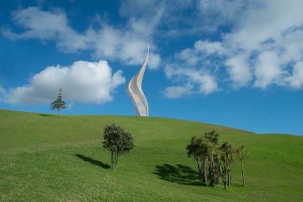 Dossier de presse | 1022-05 - Communiqué de presse | JACOB'S LADDER,Gibbs Farm Sculpture Park, New Zealand - Gerry Judah - Art - Crédit photo : David Hartley-Mitchell