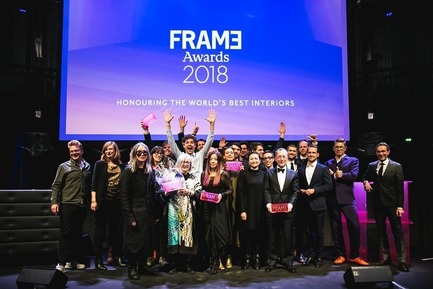 Dossier de presse | 3160-02 - Communiqué de presse | Frame Awards 2018 Winners Announced In Amsterdam - Frame - Design d'intérieur commercial - Frame Awards Winners<br> - Crédit photo : Presstigieux