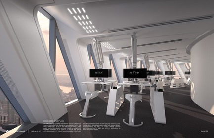 Press kit | 3158-01 - Press release | 265 West 45th Street - RB Systems - Commercial Architecture - Ergonomic workplace<br> - Photo credit: RB Systems<br>
