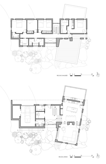 Press kit | 1678-03 - Press release | De La Canardière Residence - Atelier BOOM-TOWN - Residential Architecture - Plans - Photo credit: atelier BOOM-TOWN