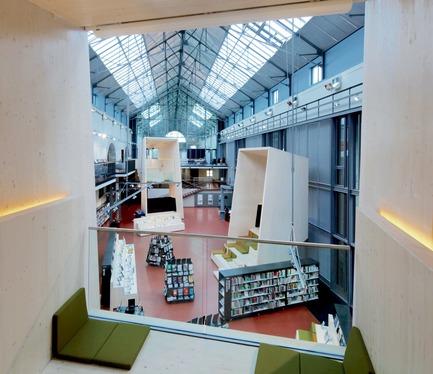 Press kit | 2276-07 - Press release | ArchiDesignclub Awards 2018 : découvrez les projets lauréats ! - ArchiDesignclub by Muuuz - Competition - Médiathèque des Capucins,   Brest (29) - Canal Architecture - Photo credit: Philippe Ruault