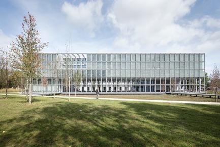 Press kit | 2276-07 - Press release | ArchiDesignclub Awards 2018 : découvrez les projets lauréats ! - ArchiDesignclub by Muuuz - Competition - ENSAE ParisTech, Palaiseau (91) - CAB   ARCHITECTES - Photo credit: Aldo Amoretti