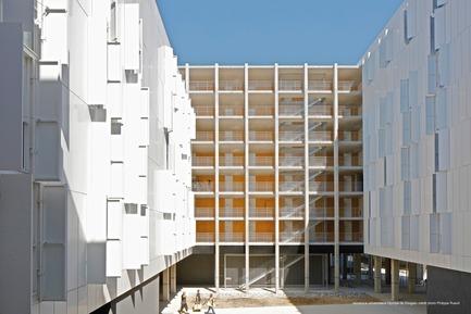 Press kit | 2276-07 - Press release | ArchiDesignclub Awards 2018 : découvrez les projets lauréats ! - ArchiDesignclub by Muuuz - Competition - Résidence Olympe de   Gouges, Toulouse (31) - PPA, scalene architectes et AFA - Photo credit: Philippe Ruault