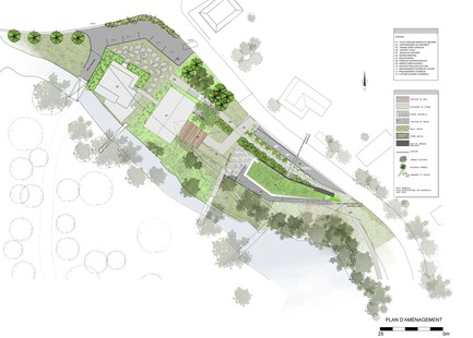 Press kit | 2263-02 - Press release | Nature, Architecture and Heritage in Harmony:Landscape Pavilion, St-Roch-des-Aulnaies - Anne Carrier architecture - Institutional Architecture - Photo credit: Anne Carrier architecture