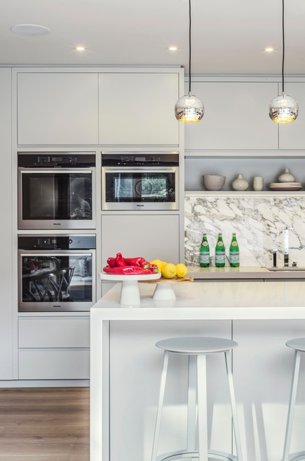 Dossier de presse | 1701-03 - Communiqué de presse | Highgate Hill - LLI Design - Design d'intérieur résidentiel - Kitchen - Straight on detail - Crédit photo : Photography / Styling : Rick Mccullagh / LLI Design