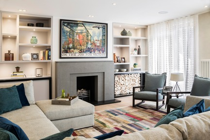 Dossier de presse | 1701-03 - Communiqué de presse | Highgate Hill - LLI Design - Design d'intérieur résidentiel - Formal Living Room - Crédit photo : Photography / Styling : Rick Mccullagh / LLI Design