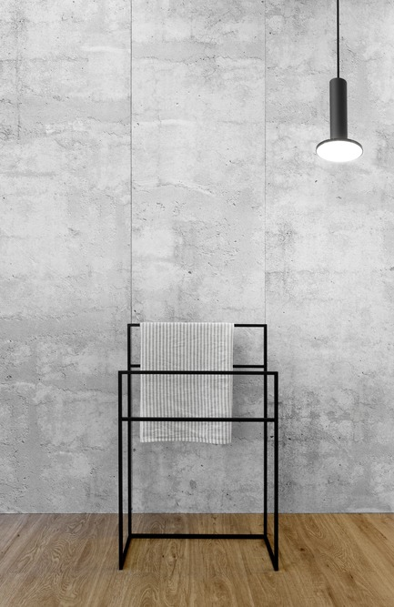 Press kit | 2342-03 - Press release | WETSTYLE dévoile C2 une nouvelle collection de meubles-lavabos et d'accessoires - WETSTYLE - Product - C2 Towel Holder - Photo credit: WETSTYLE