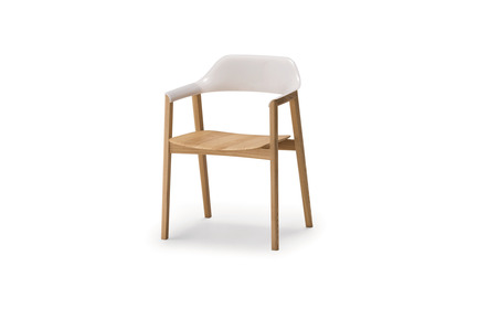 Press kit | 2998-02 - Press release | Conde House Celebrates 50 Years of Fine Furniture Craftsmanship - Conde House - Product - TEN Chair White - Photo credit: Conde House