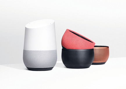 "Dossier de presse | 1696-21 - Communiqué de presse | The Winners of the Red Dot Award: Product Design 2018 Have Been Chosen - Red Dot Design Award - Concours - ""Google Home"" received a Red Dot: Best of the Best<br> - Crédit photo : Red Dot<br>"