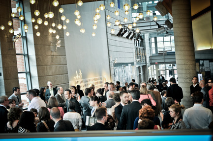 Dossier de presse | 885-03 - Communiqué de presse | La troisième édition du Concours québécois en écoconception est lancée - Novae - Concours - Plus de 200 professionnels ont assisté à la remise de prix Ecoconception 2012 - Crédit photo : Sylviane Robini