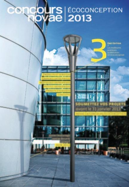 Dossier de presse | 885-03 - Communiqué de presse | La troisième édition du Concours québécois en écoconception est lancée - Novae - Concours