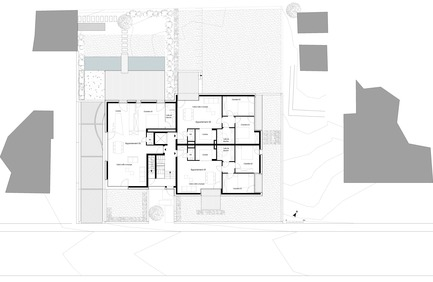 Press kit | 1018-02 - Press release | Housing building with 7 units - Metaform architects - Residential Interior Design