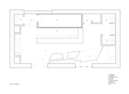 Dossier de presse   2247-04 - Communiqué de presse   Galaxy Bar and Bottle Shop - Monoloko design - Commercial Interior Design - Bar layout - Crédit photo : MONOLOKO design