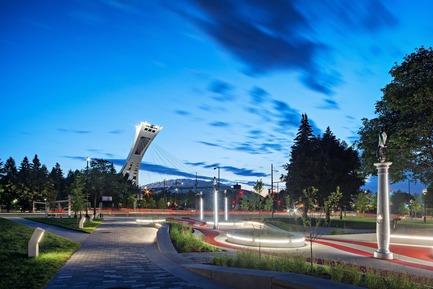 Dossier de presse | 2366-02 - Communiqué de presse | Un graphisme fort pour le parc Guido-Nincheri à Montréal - civiliti - Design urbain - Crédit photo : David Giral<br>