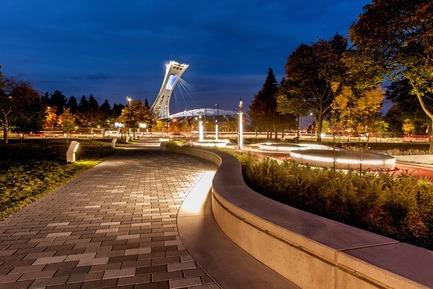 Dossier de presse | 2366-02 - Communiqué de presse | Un graphisme fort pour le parc Guido-Nincheri à Montréal - civiliti - Design urbain - Crédit photo : Stéphane Najman<br>