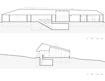 Press kit | 721-08 - Press release | Vallée du Parc Residence - Chevalier Morales architectes - Residential Architecture - Sections - Photo credit: Chevalier Morales Architectes