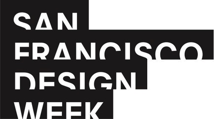 Press kit | 2949-06 - Press release | San Francisco Design Week 2018: Start Here - San Francisco Design Week - Event + Exhibition -  San Francisco Design Week Logo<br>  - Photo credit:    Logo design by Manual SF for San Francisco Design Week<br>