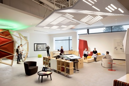 Press kit | 2949-07 - Press release | San Francisco Design Week First Annual Awards Debut - San Francisco Design Week - Competition - Studio O+A -- Microsoft Envisioning Center. <br> - Photo credit: Photo courtesy Studio O+A.