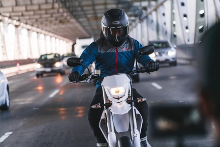 Press kit | 2949-07 - Press release | San Francisco Design Week First Annual Awards Debut - San Francisco Design Week - Competition - Alta Motors -- The Ultimate Urban Commuter: Alta Motors' Redshift SuperMoto. <br> - Photo credit: Photo courtesy&nbsp;Alta Motors.