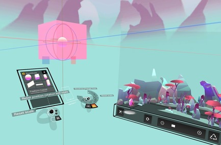 Press kit | 2949-07 - Press release | San Francisco Design Week First Annual Awards Debut - San Francisco Design Week - Competition - Unity Technologies: Unity Labs -- EditorXR : author XR experiences in XR. <br> - Photo credit: Photo courtesy Unity Labs.
