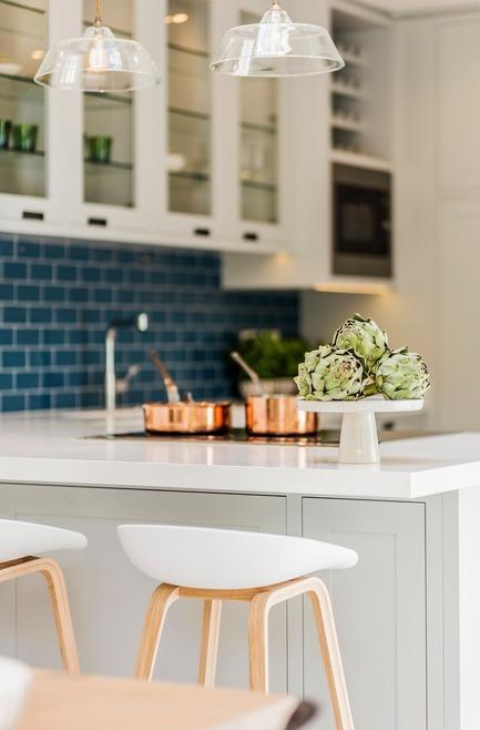 Press kit | 1701-04 - Press release | Victorian Townhouse, Highgate, London - LLI Design - Residential Interior Design - Bespoke Joinery Kitchen - Detail - Photo credit: Photography / Styling : Rick Mccullagh / LLI Design