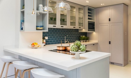 Press kit | 1701-04 - Press release | Victorian Townhouse, Highgate, London - LLI Design - Residential Interior Design - Bespoke Joinery Kitchen - Overview - Photo credit: Photography / Styling : Rick Mccullagh / LLI Design