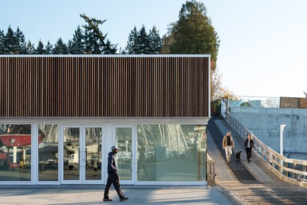 Press kit   2207-02 - Press release   The Dock Building - MGA   MICHAEL GREEN ARCHITECTURE - Industrial Architecture - Exterior - Photo credit: Ema Peter