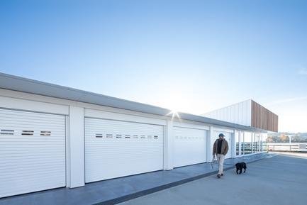 Dossier de presse | 2207-02 - Communiqué de presse | The Dock Building - MGA | MICHAEL GREEN ARCHITECTURE - Industrial Architecture - Exterior - Crédit photo : Ema Peter