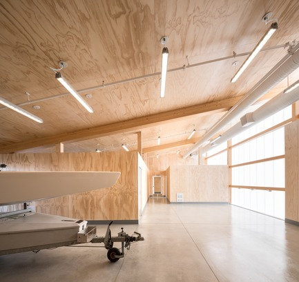 Press kit   2207-02 - Press release   The Dock Building - MGA   MICHAEL GREEN ARCHITECTURE - Industrial Architecture - Interior - Photo credit: Ema Peter
