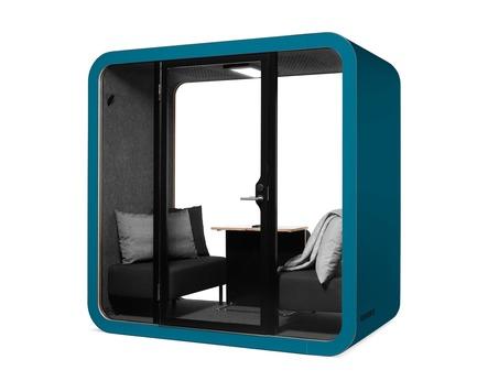 Dossier de presse | 3176-01 - Communiqué de presse | Les cabines acoustiques Framery: de nouveaux modèles à NeoCon 2018 - d|vision 21 - Produit - Modèle: Framery Q- NapQ - Crédit photo : Framery