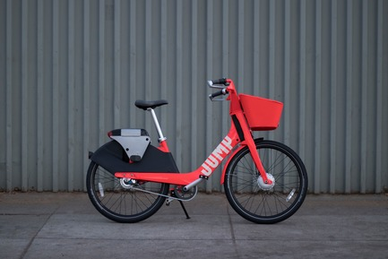 Press kit | 2048-04 - Press release | Core77 Design Awards Announce Their 2018 Honorees - Core77 Design Awards - Competition -  JUMP Bike Share, the Professional Transportation winner this year, is a new affordable electric bike share program.  - Photo credit: JUMP
