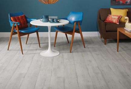 Press kit | 3063-02 - Press release | Laminé « smart floors » de TORLYS - TORLYS - Produit - Laminé Envique - Urban Concrete Oak (QS-IMUS1861) - Photo credit: TORLYS