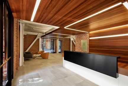 Dossier de presse | 1771-02 - Communiqué de presse | The Italian Swiss Colony Building Lobby Receives AIA SF Award - jones | haydu - Commercial Architecture - Crédit photo : Matthew Millman