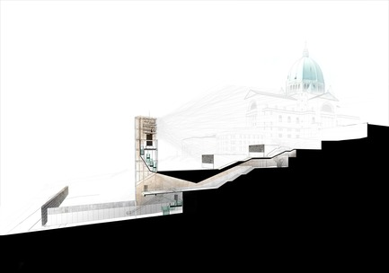 Press kit | 865-33 - Press release | Second Major Award Distinguishes Architectural Concept for Saint Joseph's Oratory of Mount Royal - Lemay - Competition - Visitor Pavilion and Carillon - Saint Joseph's Oratory of Mount Royal - Photo credit: Lemay